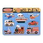 Puzzle cu sunete Vehicule