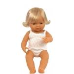 Baby european (fata) Papusa 38cm