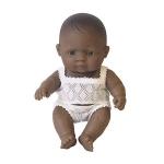 Papusa bebelus fetita latinoamericanca 21cm