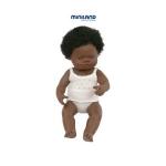 Papusa fetita africana 38 cm - Miniland