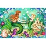 Puzzle de podea Sirene la joaca