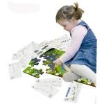 Puzzle de podea educativ cu numere 40 piese