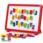 Joc creativitate Quercetti Tablita magnetica litere mari 48 piese