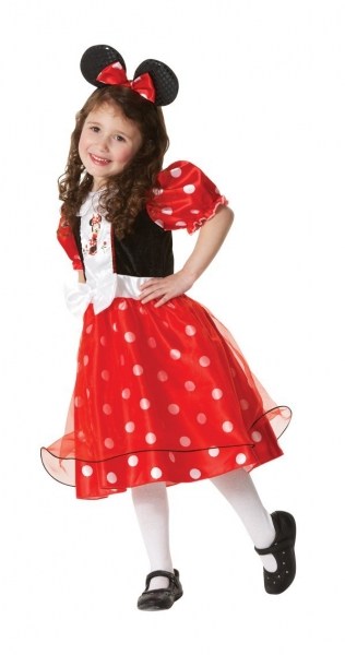 Costum Minnie Mouse rosu