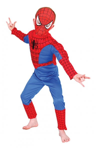 Costum Spiderman cu cagula