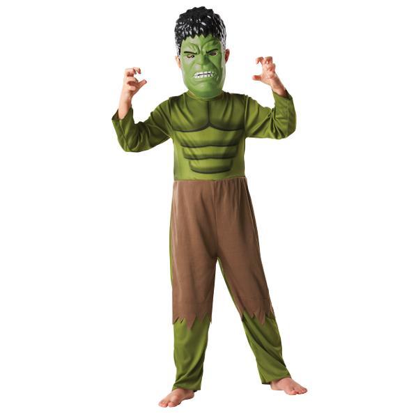 Costumatie Hulk cu masca