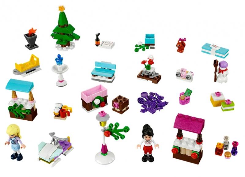 Calendarul de advent LEGO Friends 2013