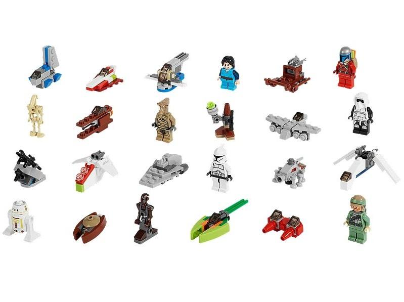 Calendarul de advent LEGO Star Wars 2013
