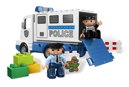 Camion politie din seria LEGO Duplo