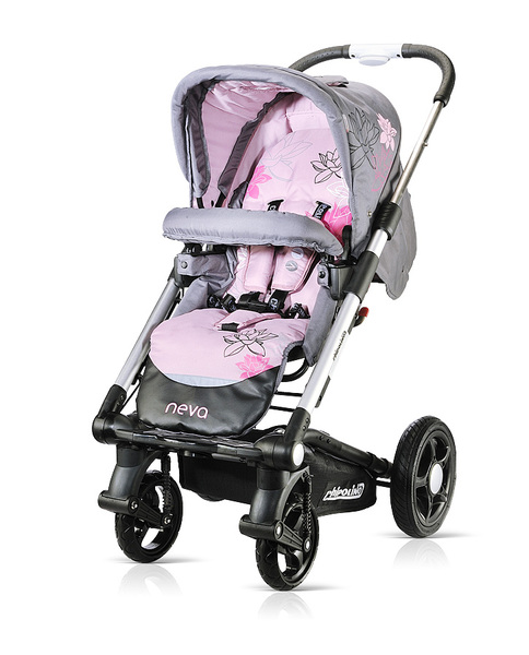 Carucior Chipolino Neva 2 in 1 2013 rose