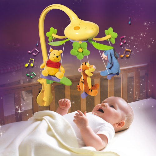 Carusel muzical Winnie the Pooh
