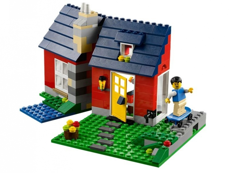 Casuta de vacanta din seria Lego Creator