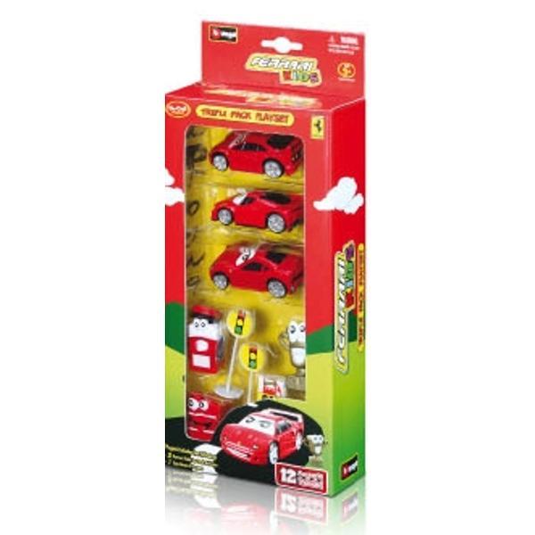 Ferrari Kids Triple Pack Play