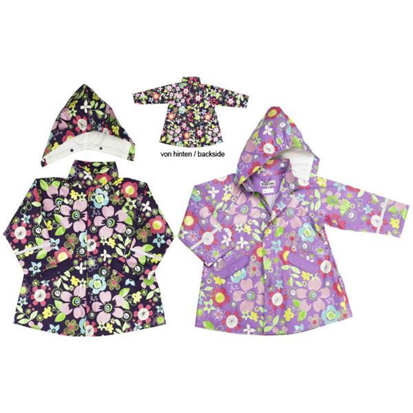 Jacheta de ploaie cu flori