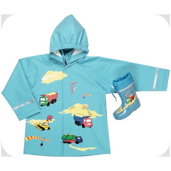 Jacheta de ploaie imprimeu masini