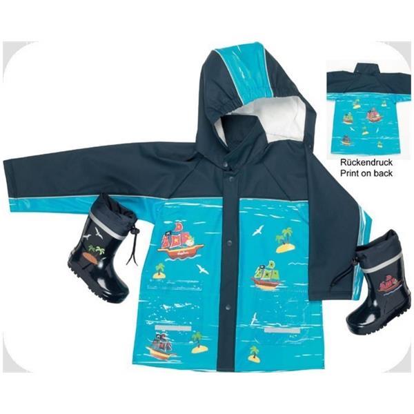 Jacheta de ploaie imprimeu vapoare