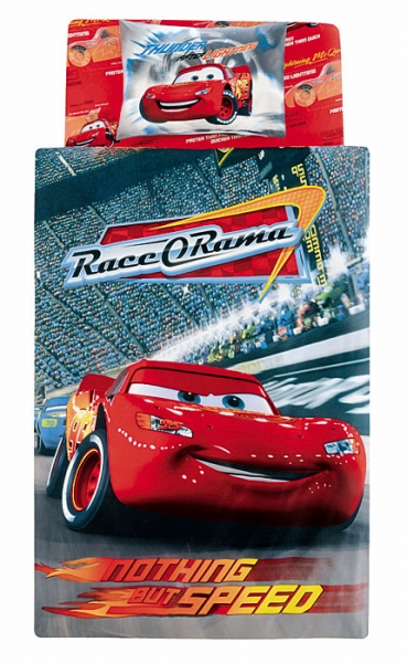 Lenjerie pat Cars O Rama Speed