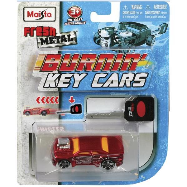 Maisto Burning Key Cars