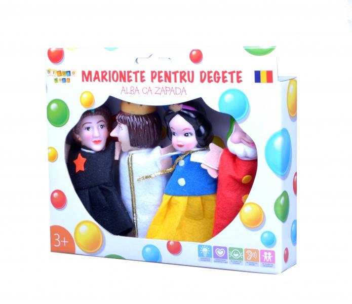 Marionete pentru degete - Alba Ca Zapada