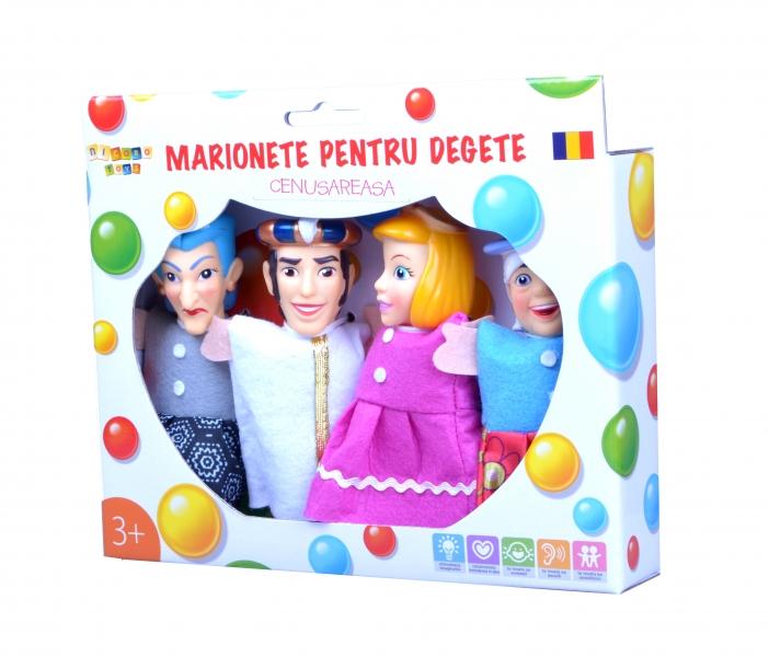 Marionete pentru degete - Cenusareasa