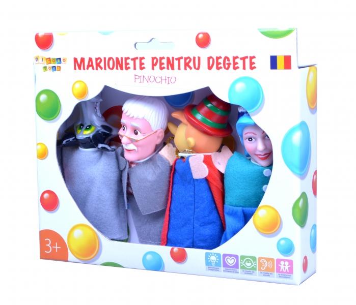 Marionete pentru degete - Pinochio