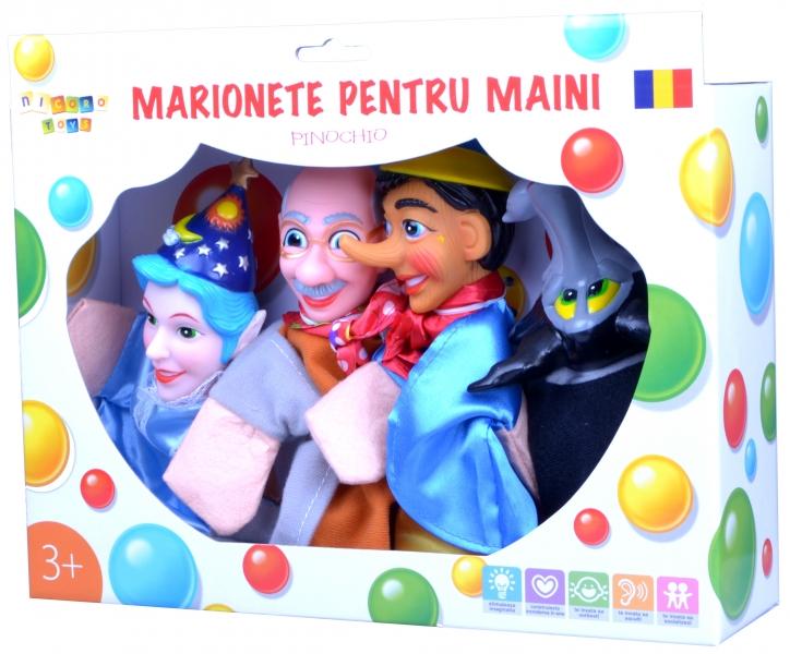 Marionete pentru maini - Pinochio