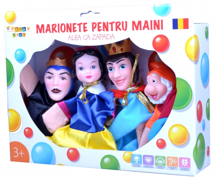 Marionete pentru maini – Alba Ca Zapada