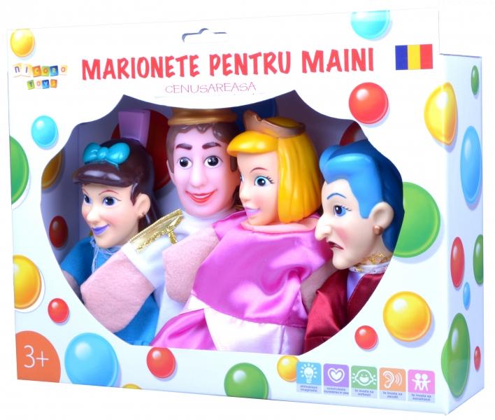 Marionete pentru maini - Cenusareasa