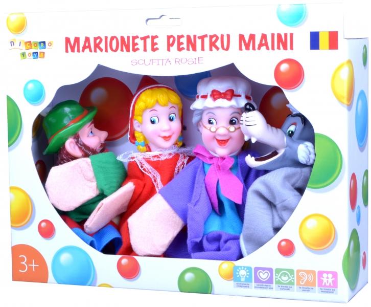 Marionete pentru maini - Scufita rosie
