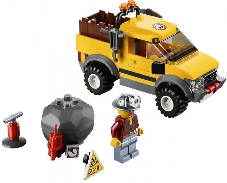 Masina 4x4 pentru minerit