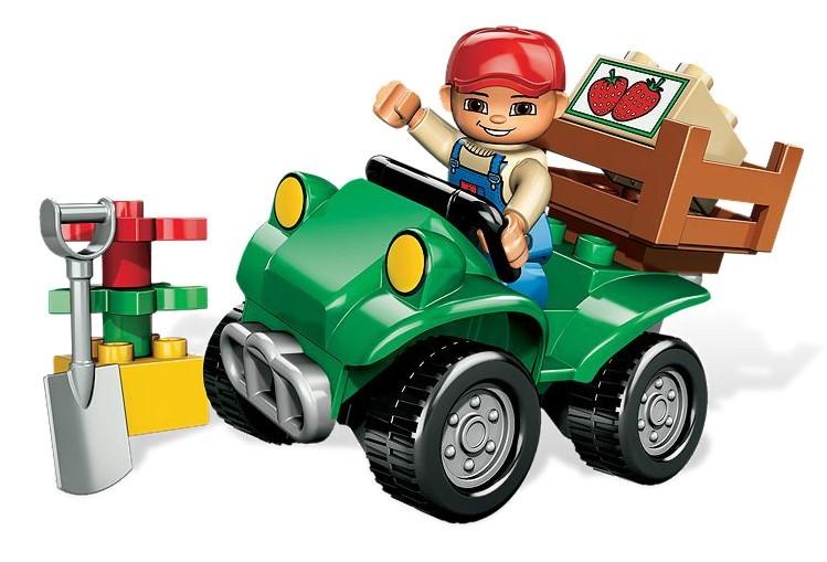 Masina Pentru Ferma din seria LEGO DUPLO