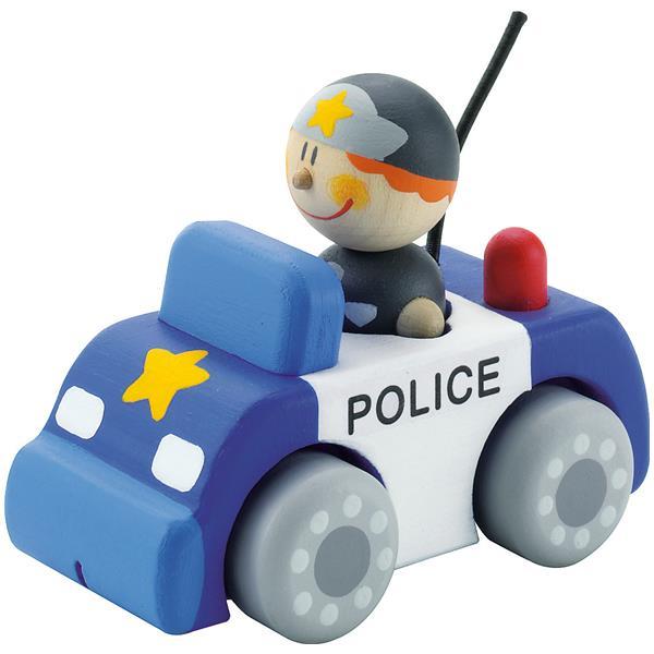 Masina politie lemn Sevi