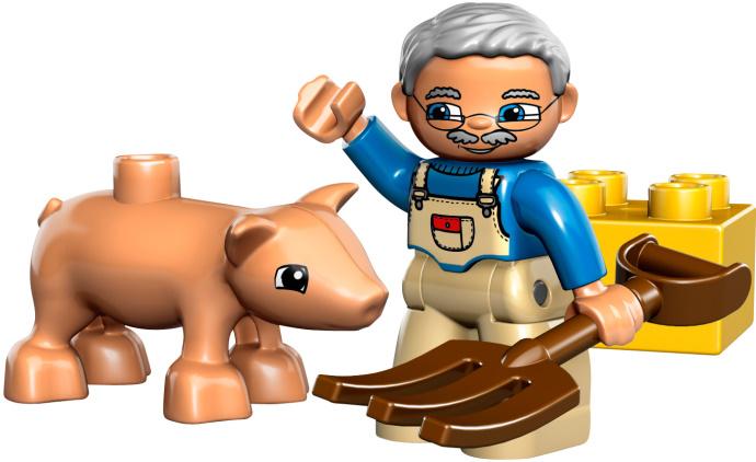 MICUL PIGGY din seria LEGO DUPLO.
