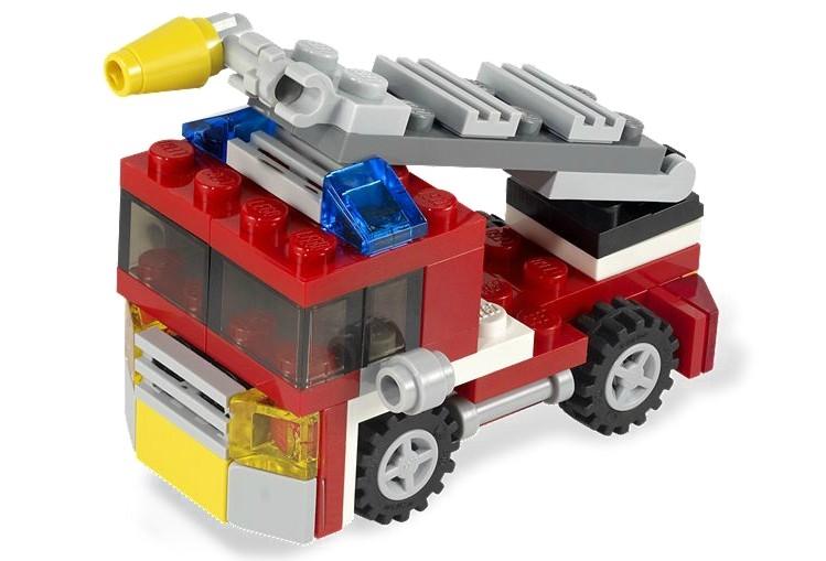 Mini camion pompieri