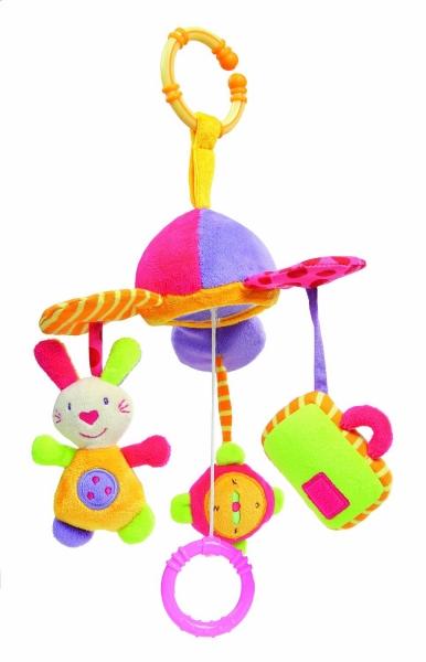 Mini-carusel muzical - Iepuras