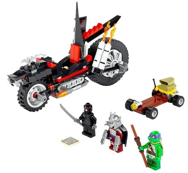 Motocicleta dragon a lui Shredder