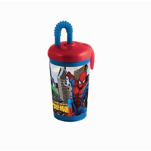 Pahar Plastic cu Pai Spiderman