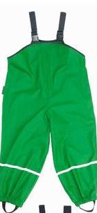Pantaloni de ploaie cu bretele Verzi