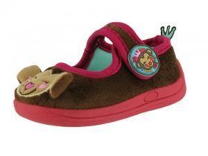 Pantof gradinita maro