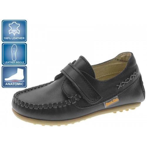 Pantofi cu clapa negri