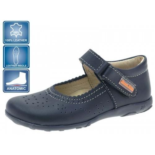 Pantofi de piele pentru fetite