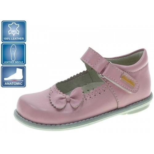Pantofi pentru fetite cu fundita