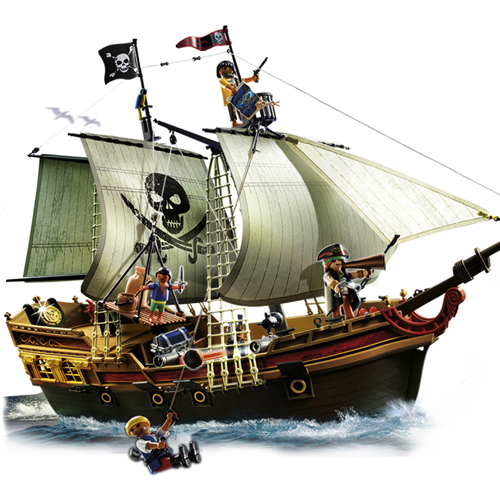 Pirates - Corabia piratilor