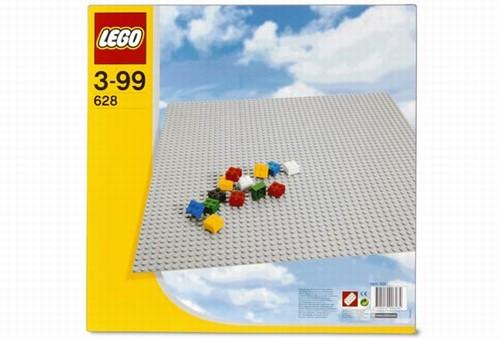 Placa Gri Lego