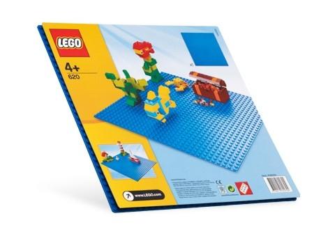 Placa albastra Lego