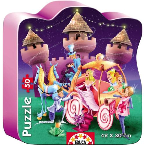 Puzzle Castelul Printesei 50 Piese