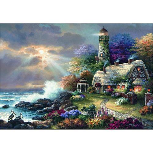 Puzzle Heavens Light James Lee 2000 Piese