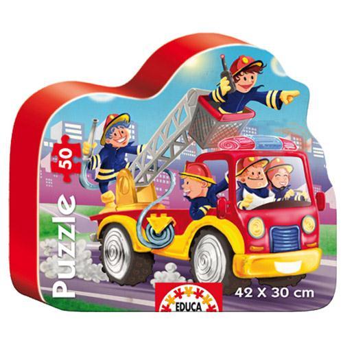 Puzzle Masina de Pompieri