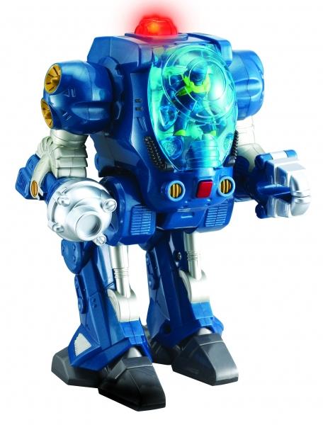 Robot transport de pe marte albastru