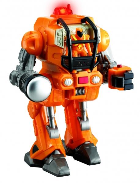Robot transport de pe marte portocaliu